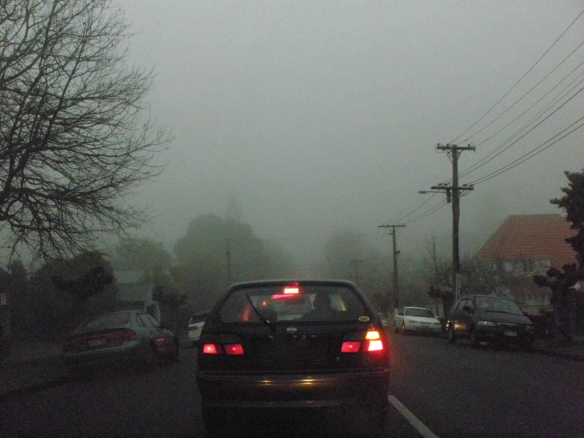 of course given the lack of visibility jacquie insisted we take a