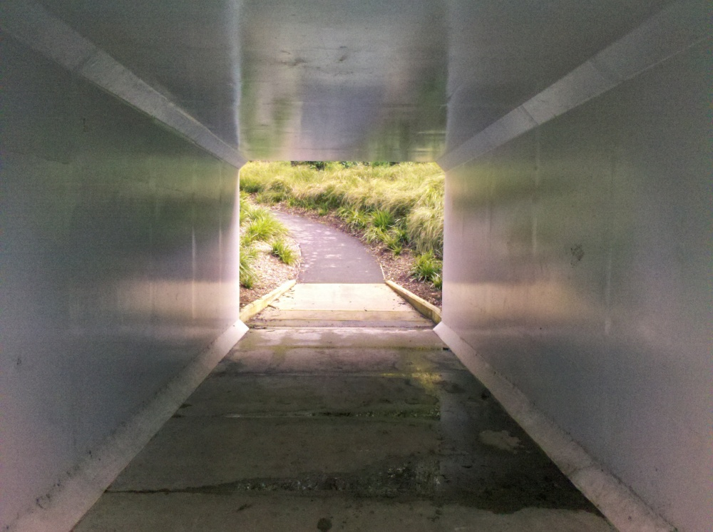 There's light at the end of the tunnel. And it's not even a really long or particularly dark tunnel. So, stop your bitching.